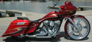 Custom Bagger Motorcycles