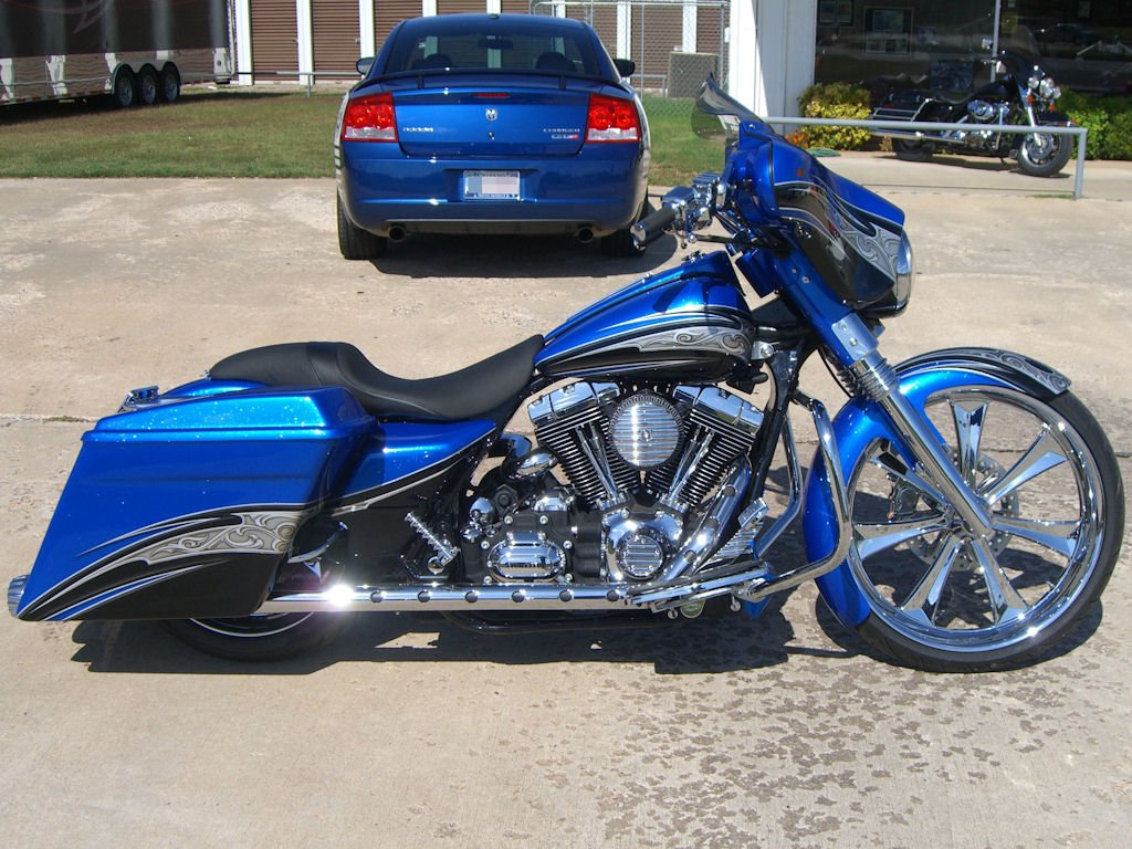 Custom Bagger Paint Schemes