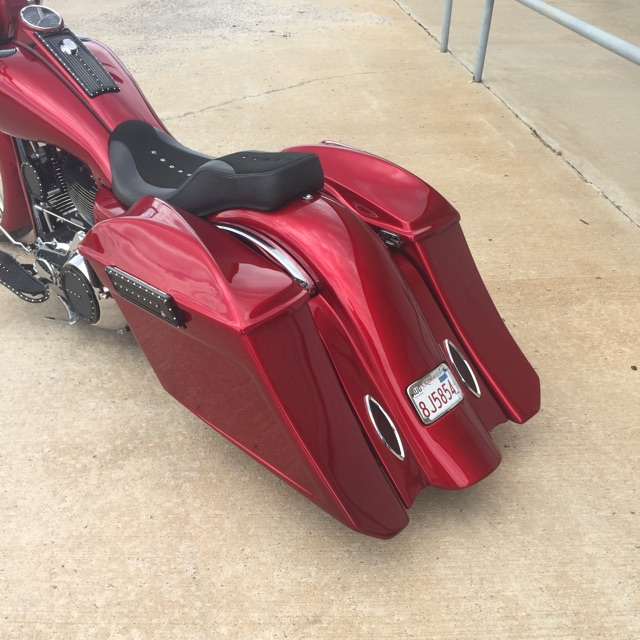 Covington S 2013 Candy Red Metal Flake Roadking