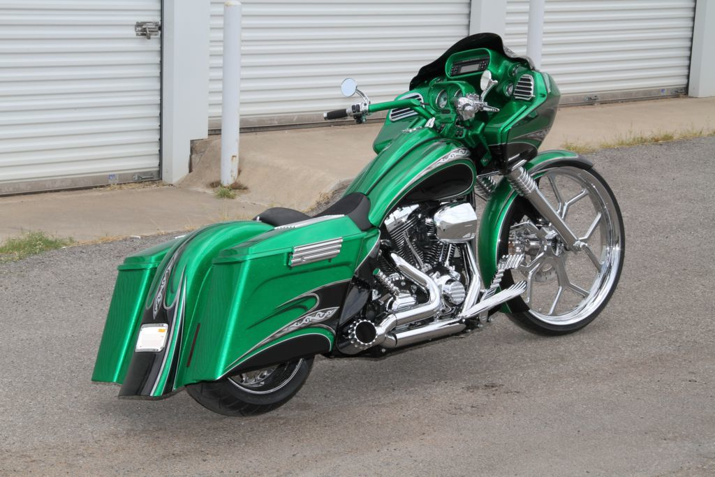 Http Www Covingtonscustoms Com Motorcycles Custom Baggers Greenroadglide