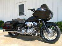 BlackRoadGlide Custom Bagger