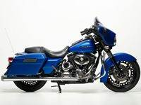 Blue Custom Bagger
