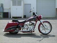 Horns RoadKing Custom Bagger