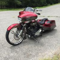 Johns26CVO4 Custom Bagger