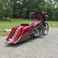 Johns26CVO6 Custom Bagger