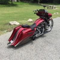 Johns26CVO7 Custom Bagger