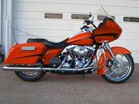 Orange Custom Bagger