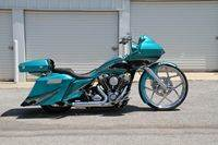 Teal Custom Bagger
