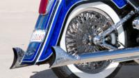 BlueHeritage10 Custom Harley Motorcycle
