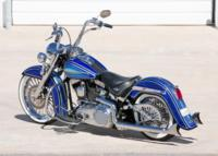 BlueHeritage5 Custom Harley Motorcycle