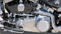 BlueHeritage8 Custom Harley Motorcycle