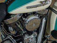 Teal7 Custom Harley Motorcycle