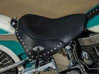Teal1 Custom Harley Motorcycle