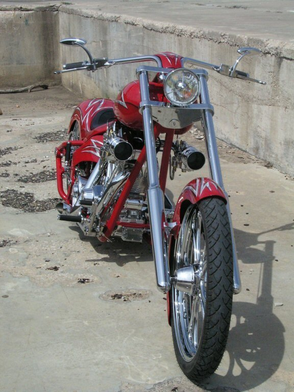 21 Covingtons Psycho1 Custom Motorcycle