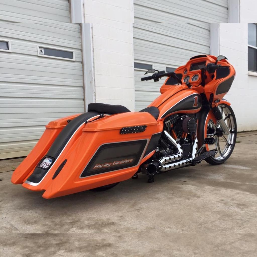 Covington S 2015 Orange Roadglide Special