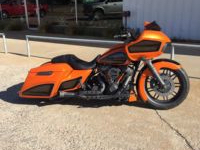 2018 Orange Road Glide Custom Bagger