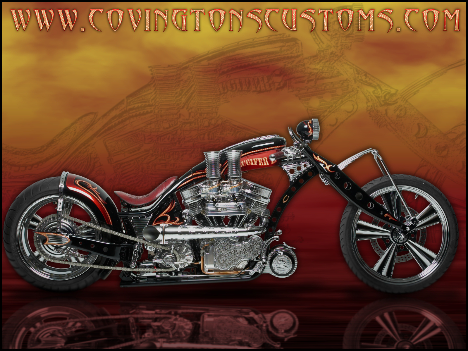 Covingtons Custom Motorcycle WallPaper 30jpg