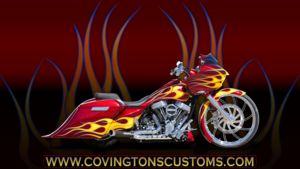 Custom Bagger and Custom Motorcycle Wallpapers