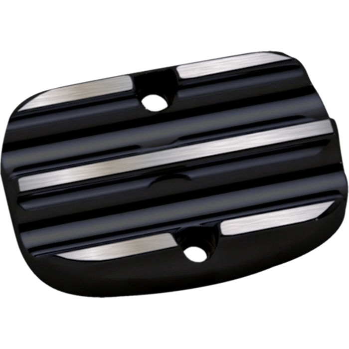 Master Cylinder Lid, 08, Lower, Finned, Black