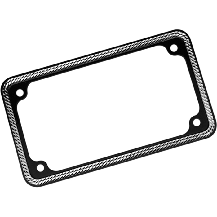 LICENSE PLATE FRAME, DIAMOND CUT, C1265-D, Covington\'s Custom Bagger ...