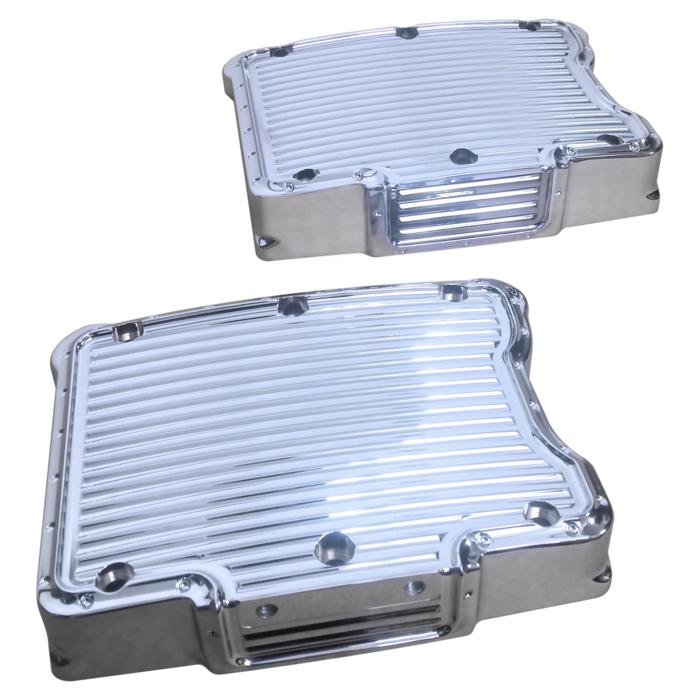 ROCKER TOP COVERS, TURBO, TWINCAM, DIMPLED, CHROME, PAIR