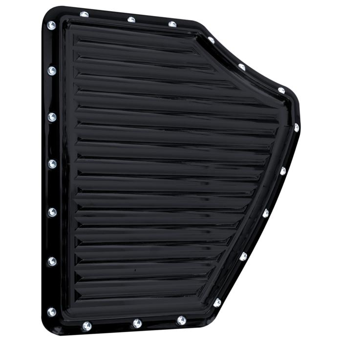 CAM COVER, PLATE, TRASK TURBO, DIMPLED, BLACK