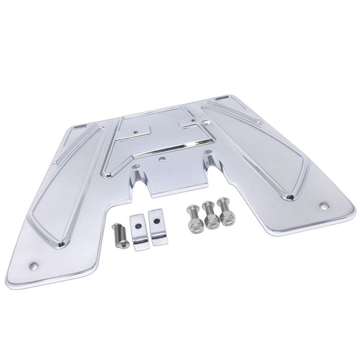 Firewall Plate, 17, Ripper, Chrome