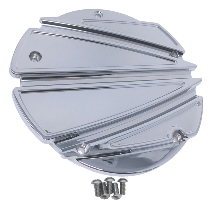 Derby Cover, 16, Ripper, 5 Hole, Chrome