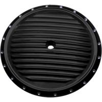 AIR CLEANER COVER INSERT, DIMPLED, BLACK