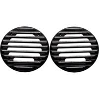 SPEAKER GRILLS, ULTRA, FINNED, DIAMOND CUT, PAIR