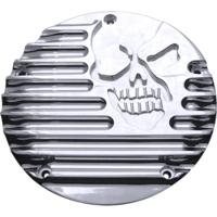 Derby Cover, 16, Machine Head, 5 Hole, Chrome