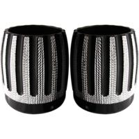 Exhaust Tip, Rinehart, 4 Inch, Diamond Cut, Pair