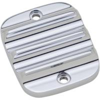 MASTER CYLINDER LID, FINNED, CHROME