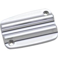 MASTER CYLINDER LID, 13, UPPER, FINNED, CHROME
