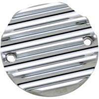 Points Cover, Finned, 70-99, Chrome