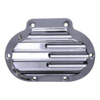 TRANS SIDE COVER, HYDRAULIC, FINNED, CHROME