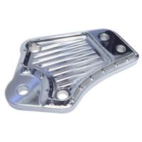 KICKSTAND ELIMINATOR, DIMPLED, CHROME