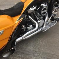 EXHAUST, DESTROYER, 17, BAGGER, ALL CHROME
