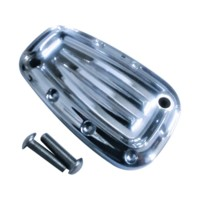 Master Cylinder Lid, 18, Lower, Dimpled, Chrome
